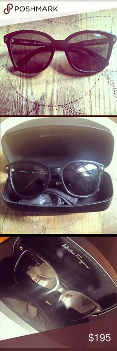 Salvatore Ferragamo Sunglasses BRAND NEW Never worn Ferragamo sunglasses with case and box Salvatore Ferragamo Accessories Glasses
