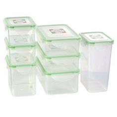 Kinetic Fresh 14 Piece Fresh Food Storage Container Set