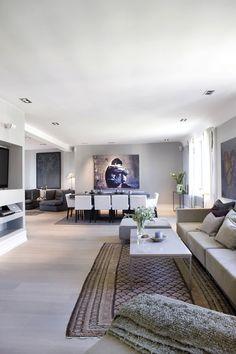 Interiørdesigner Cathrine Vågsmyr Mørch. Interior Styling, Interior Decorating, Interior Design, Floor Colors, Home Fashion, House Rooms, Apartment Design, Living Room Interior, Contemporary Design