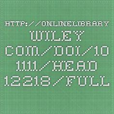 http://onlinelibrary.wiley.com/doi/10.1111/head.12218/full