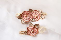 Rosebuds - Lovely Wedding Garters to Keep or to Toss - Photos