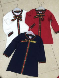 Pin by nasrin mehrali on pattern dress kids sweets Little Girl Fashion, Toddler Fashion, Toddler Outfits, Boy Outfits, Kids Fashion, Versace Baby Clothes, Designer Baby Clothes, Baby Girl Dresses, Pattern Dress