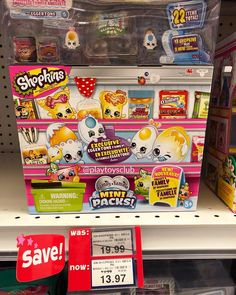These Family Mini Packs are so adorable! 🥚👀 And this sale is perfect for collecting them all! Shopkins World, Toys R Us Canada, Pinball, Packing, Mini, Bag Packaging
