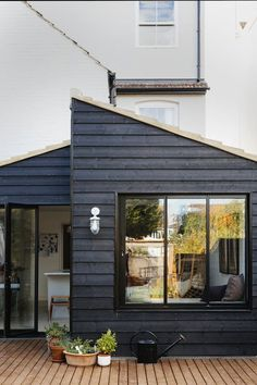 Charcoal Wooden Exterior | Outdoor