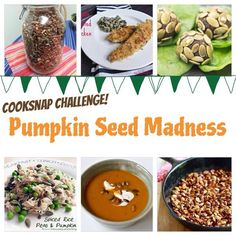 Halloween is almost here and Cooksnaps wants YOU to participate in the Pumpkin Seed Madness Challenge! Cooksnap any of the 6 recipes, and you might win a prize! http://cooksnaps.com/contest