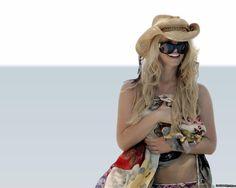 Hatty Jessica Simpson Beach Hat
