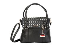 GET THE LOOK - Pair our New York Tote in black with our Harper (studded) TrendStyler™    http://www.larissa-k.com/base-bags/new-york-tote-black-detail AND http://www.larissa-k.com/trendstylers/harper-trendstyler-detail