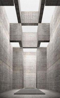 Simon Ungers - Kathedraal uit de serie Zeven sacrale ruimten - 2003