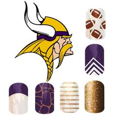 Go Vikings! To browse/order, please go to: http://kelseyjooie.jamberrynails.net Want a FREE sample? Email me at kelseyjooie@gmail.com