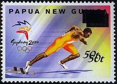 2000 Sydney Olimpics - Double Overprint