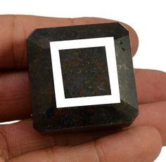 487ct Big Huge Natural Rectangular Shape Blue Sapphire Earthmined Loose Gemstone