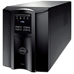 2e351b4fa Dell DLT1500 Smart UPS - 1000 Watts - AC 120V - USB - Black