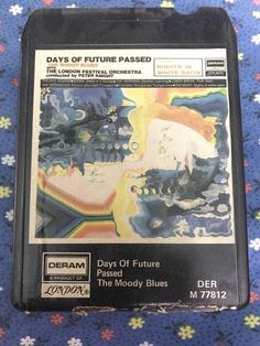 The Moody Blues 8 Track Tape Days of Future Passed London Festival Orchestra #ProgressiveArtRockPsychedelicRock