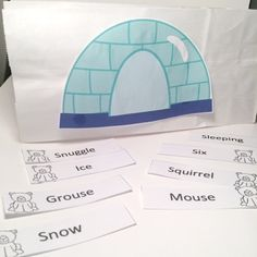 LIke the freebie?!  Here's a few more sounds to add!  This crafivity is perfect for any winter animal unit using polar bears.  You supply the white lunch bag, scissors and glue for this ready to make activity!Includes /s/, /r/, /l/, blends, /sh/, velars, and /f/