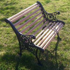 Take a load off on this antique bench lovingly restore to its former glory.   https://www.etsy.com/listing/291243325/vintage-cast-iron-garden-bench-with