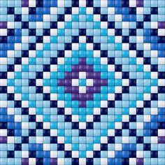 Blue design - Pixelhobby / Pixelgift