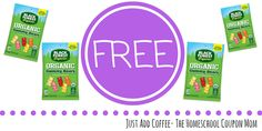 JustAddCoffee- The Homeschool Coupon Mom : FREE Black Forest Organic Gummy Bears…