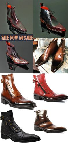 Mens Fashion Casual Shoes, Stylish Mens Outfits, Men Casual, Men Fashion, Leather Men, Leather Boots, Dress Suits For Men, Retro Men, Men S Shoes