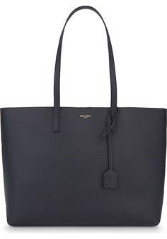 SAINT LAURENT - Large leather tote | Selfridges.com