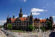 Dresden,Residenzschloss castle