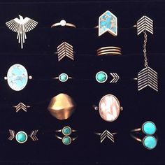 RINGS GALORE – TORCHLIGHT JEWELRY
