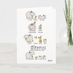 HIPPO BIRDIE CARD 70th Birthday Card, Funny Birthday Cards, Birthday Quotes, Birthday Humorous, Sister Birthday, Birthday Gifts, Sandra Boynton, Popular Birthdays, Happy Birthdays