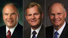 Tres líderes de la Iglesia, élder Ronald A. Rasband, élder Gary E. Stevenson y élder Dale E. Renlund fueron llamados y sostenidos como miembros del Cuórum de los Doce Apóstoles de La Iglesia de Jesucristo de los Santos de los Últimos Días. http://oak.ctx.ly/r/3st3j  Sigue la conferencia EN VIVO aquí: http://oak.ctx.ly/r/3st0v #LDSconf #ElderRasband #ElderStevenson #ElderRenlund #mormones #Apostoles
