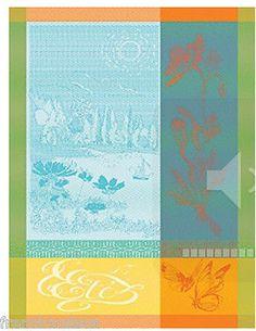 Garnier Thiebaut French Cotton Kitchen Towel L'ETE (SUMMER) 2015 (Own)