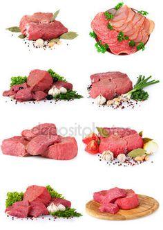 Pobieraj - Kolekcja surowego mięsa — Obraz stockowy #7262848