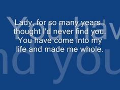 Kenny Rogers - Lady (Lyrics)