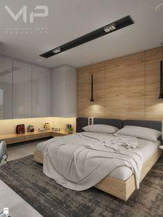 INTERIOR | Dom w Rudach - Średnia sypialnia małżeńska, styl nowoczesny - zdjęcie od Manufaktura Projektów