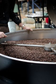 coffee roasting - and beautiful photos for delicious sounding recipes on this site