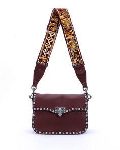 ce48d43410a Red Valentino Rockstud Studded Messenger Bag