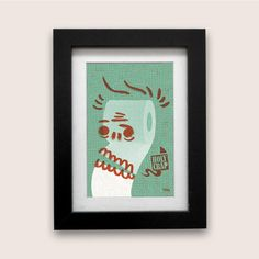 Pipi Caca Series no.2  Holy Crap art print for the toilet by YONIL, $16.00