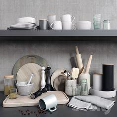 Set for kitchen decor 2