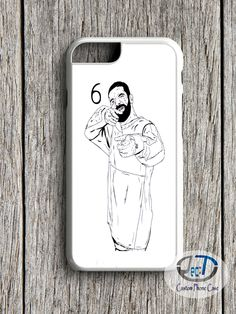 Drake 6 God Shooter White iPhone Case, iPhone Case, iPhone Case plus Samsung Galaxy Edge Cases Cool Iphone Cases, 5s Cases, Samsung Cases, Iphone 4, Drake Phone Case, Halsey Concert, Pop Custom, Art Case, White Iphone