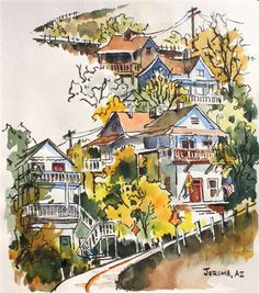Brenda Swenson: Watercolor on Mi-Teintes