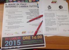 Presentazione del progetto Made in Italy Eccellenze in Digitale