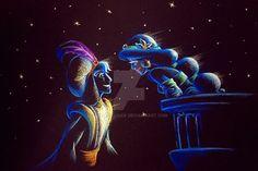 AmadeuxWay Disney A Whole New World Aladdin & Jasmine Disney Princess Pictures, Disney Pictures, Disney Dream, Disney Love, Disney Couples, Arte Disney, Disney Pixar, Disney Jasmine, Princess Jasmine