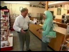 """Muslim woman called a """"Terrorist"""" AMAZING father of a Solider stands up to the ignorance."""