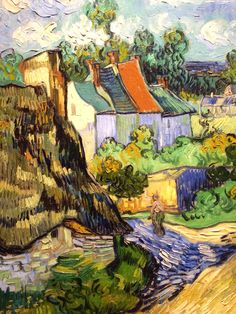 "House at Auvers (1890), Vincent Van Gogh @ MFA Boston, ""Boston Loves Impressionism"" Exhibition"