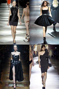 La petite robe noire, icone du style Lanvin par Alber Elbaz 2