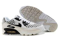 online store cfef0 d22e8 Nike Air Max 90 Check White Black