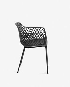 Stoel Quinn grijs | Kave Home® Outdoor Chairs, Outdoor Furniture, Outdoor Decor, Home Decor, Garden Chairs, Interior Design, Home Interior Design, Yard Furniture, Garden Furniture