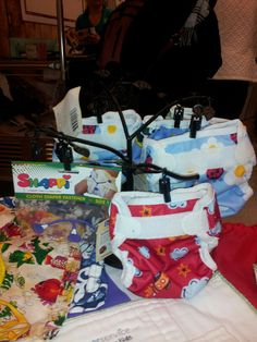 Crazy for cloth diapers