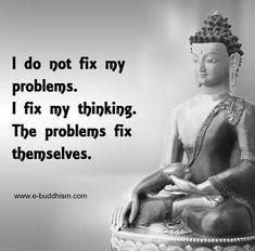 I fix my thinking