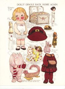 Dolly Dingle back home Again paper doll 12-2012