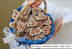 Lakodalmas mézeskalács Bjkata konyhájából Xmas, Christmas, Straw Bag, Gingerbread, Cake, Desserts, Food, House, Kitchens