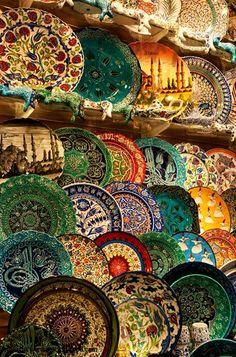 Grand Bazaar in Istanbul, Turkey I'd love to go back to Turkey!