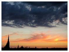 Czech Republic, Skyline, Clouds, Sunset, Outdoor, Sunsets, Outdoors, Outdoor Games, The Great Outdoors